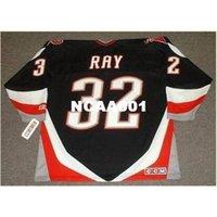 001s # 32 roubo raio búfalo sabre 1999 ccm longe casa jersey ou personalizado qualquer nome ou número retro jersey