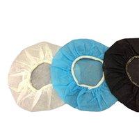 100 pcs / saco capa descartável capa não tecida almofada de ouvido 10-12cm fone de ouvido descartável de fone de ouvido descartável 10pack / lote