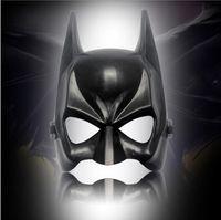 CreaCtive Halloween Batman Mask Adulto Masquerade Festa Fato Máscaras Meia Face