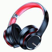 Headphones & Earphones Lenovo HD200 Wireless 5.0 Headset Subwoofer Sports Running Unisex Noise Reduction Video Call