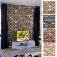 Wall Stickers Foam 3D Self Adhesive Wallpaper Panels Brick Sticker Home Decor Living Room Bedroom House Decoration Bathroom