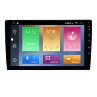 32G 9 pulgadas Coche Reproductor de DVD DVD Radio de pantalla táctil universal con música GPS de FM 1080p video táctil para radio de automóvil con WiFi BT