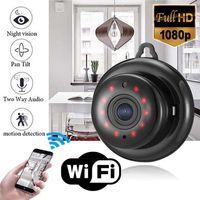 HD Wireless Mini Wi-Fi IP-камера Ночное видение Умные домашние Охранные видеокамеры DV Поддержка TF Card Monitor Baby Monitor