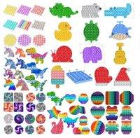 500 Styles Push Bubble Fidget Sensory Toy Autism Special Needs Stress Reliever Toys Adult Kids Funny Antistress Fidget Toys BJ30