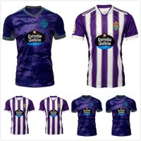 Homens 21 22 Real Valladolid Futebol Jerseys Fede S. Sergi Guardiola Óscar Plano Camisetas de Fútbol 2021 2022 Kit Camisas de futebol