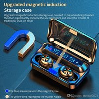 F9-10 TWS Wireless Bluetooth 5.0 Earphones Invisible Earbuds Stereo watch LED Noise Cancelling gaming Headset with 3 led power display