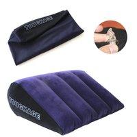 インフレータブルセックスピロー家具ボディサポートパッド三角形愛の位置を使用エアブロークッションカップル寝具枕
