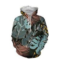 Hoodies dos homens moletom liasoso 3d digital impresso camisola 2021 primavera e outono capuz vintage homens soltos remendo bolso moletom loung
