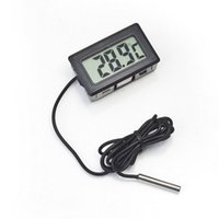 100pcs Digital LCD Screen Thermometer Refrigerator Fridge Freezer Aquarium FISH TANK Temperature -50~110C DH0600