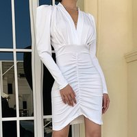 Casual Dresses Summer Women'S Dress 2021 Solid Long Evening Female Vintage Maxi Party Beach Women Prom White Clothing