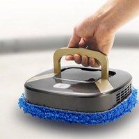 Интеллектуальная автоматическая вымокание робота USB зарядки немой вакуумный очиститель пыли для очистки пыли подметающий робот для сухих / мокрых этажей ковер