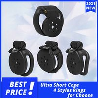 Super Small Cock Cage 3D Printed Cobra Mamba HT-V4 Penis Ring Male Chastity Device Adult Sexy Toys For Men Gay Sleeve Lock