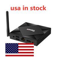 США В наличии TX6S Android 10.0 TV Box Allwinner H616 Quad Core 4GB 32GB Smart 5G Wi-Fi Установите верхнюю коробку 4G 32G