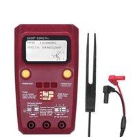 Multimetri Digital Transistor Tester SMD Componenti diodi Triodo resistore condensatore induttore ESR Misuratore multimetro con pinzette