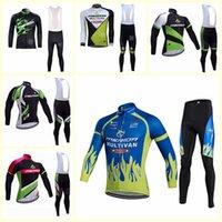 Merida Team Cycling Manica Lunga La Jersey Bib Pantaloni Set Set di uomini di alta qualità Bike MTB Abbigliamento Maillot Ciclismo S210303105