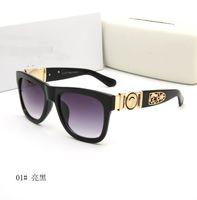 1 шт. Высокое качество бренда Sun Glasses Доказательства Солнцезащитные очки Дизайнерские Очки Очки Мужские Женские Полированные Черные Солнцезащитные Очки 721