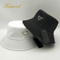 2021 Nuevo estilo de patrón unisex estilo de lujo sombrero de lujo diseñador de moda lavabo sombrero nylon sol negro al aire libre viaje