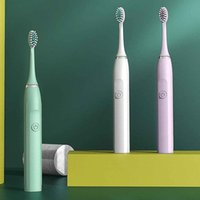Party Favor Adult Rechargeable Toothbrush Ultrasonic Vibrating Electric Clean Tooth Brush Whitening Care