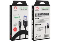 Olesit CABLES 2M 6.6FT 3M 10FT 3.1A fast charger Micro USB Data type-c cable for smartphone samsung huawei with retail box