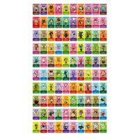 2021 Amiibo NFC Cards for Animal Crossing amiibos MiNi Card Series 2 Compatible with Switch Wii U New 3DS (101-200)