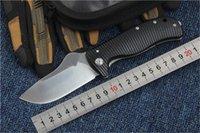 C157 facas D2 lâmina G10 + Titanium Hand Tactical Resgate Camping Faca dobrável EDC