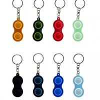 Fidget Toys Push Bubble Poppers Sensory Toys Simple Stress Relief Reliver Silicone Decompression Fingertip Top Keychain H42GG4K On Sale