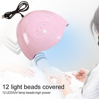 Nail Dryers 36W Dryer With One Charging Cable UV Gel Varnish LED Art Lamp Salon Use Quick-Drying Potherapy Machine