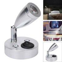 Wall Lamps Movable 12V LED Spot Reading Light Switch Camper Van Caravan For Boat Motorhome UK Modern Decor Desk