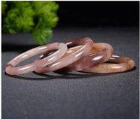 Consegna gratuita del braccialetto del braccialetto della giada del filo dell'oro naturale 56-60 mm