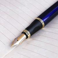 Jinhao X450 فاخرة الرجال نافورة القلم طالب الأعمال 0.5 ملليمتر اضافية غرامة المنقار شفافة الخط شفافة مكتب توريد أدوات الكتابة أقلام