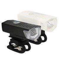 USB-Fahrrad-Licht wiederaufladbar 300 Lumen Front Radlampe Fahrrad LED wasserdichte Lampe wiederaufladbare Rücklicht