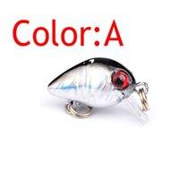 1pcs 1.7g 2.6cm Wobbler Swim Crankbait Fishing Lures 3d Eyes Mini Lifelike Hard Lure With Sharp Hooks Bass Isca Artific jlljBZ