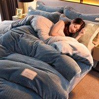 Conjuntos de cama nórdico conjunto simples de algodão macio CONFORTER cama capa twin quarto king size ropa de camam têxtil db60cd