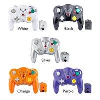 Game Controller Joysticks per Cube / Wii Gamepad Console 2.4G Controller Wireless Vibration Wireless Joystick Joypad con accessori ricevitore