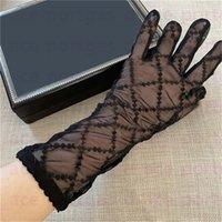 검은 얇은 얇은 얇은 얇은 얇은 얇은 얇은 웨딩 파티 장갑 패션 얇은 웨딩 파티 장갑을 수 놓은