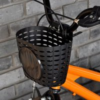 Cycling Bags Bicycle Basket Children Bike Tricycle Scooter Supplies Handlebar Carrier Outdoor Storage Front Shopping Kids Accessories