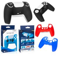 100% Original DOBE Silicone Cover Case For PS5 Handle Colorful Dustproof Sweat-Proof Protective Anti-Slip Sleeve For PlayStation GamePads Game Controller