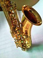New Yanagisawa T-902 BB Tenor Saxophone المهنية النحاس الذهب ورنيش ب شقة الآلات الموسيقية سيكس مع حالة لسان حال