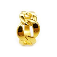Fashion Simple Silver Gold Band Ring For Men Stainless Steel Flower Knotted Big Rings Man Friendship Personalized Hiphop Father Day Jewelry Wholesale With Box