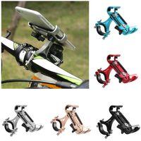 Bike Handlebars &Components Bicycle Phone Holder Racks Motorcycle Handlebar Non-Slip Moblie Clip For Universal 360 Degree Rotation