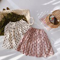 Ambb Newester Ins busca de niños Coreanos Faldas Polka Dot Falda Primavera Verano Encantador