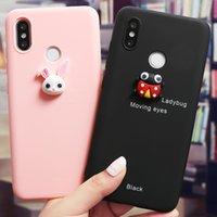 Cute Custodia per telefono animale 3D per Xiaomi Redmi Nota 8t 8 9 9s 7 6 5 Pro per MI Nota 10 CC9 9 9T PRO 8 A3 A2 Lite 5x 6x Cover Fundas