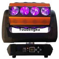 Effects 8 Pcs 16x15w Roller Led Pixel Spider Moving Head RGBW 4In1 Beam Fast Rotation Light