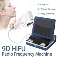 9D HIFU machine with 8 cartridges for wrinkle removal body slimming face lift skin tightening beauty equipment