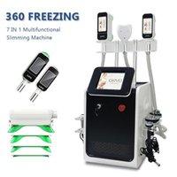 7 in 1 Mini Cryo 360 Cryolipolisis Fat Freezing Machine Double Chin Fat Removal 360 Cryolipolysis Fat Freeze Abdomen Belly Slimming Machine