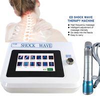 Nuevo Equipo de terapia física portátil ED electromagnético Extracorpóreo Máquina de terapia de onda Máquina de alivio del dolor Masajeador