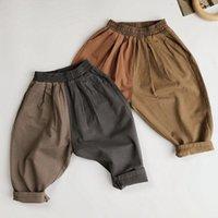 Jeans primavera otoño niños bebés niñas niñas pantalones sueltos ropa infantil tocado conjunto casual pantalón niño