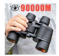 x Binoculars Long Range m Hd High Power Telescope Optical Glass Lens Low Light Night Vision for Hunting Sports