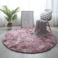 Carpets Colors Home Beige Round Thicken Soft Rugs For Living Room Kilim Aera Kids Bedroom Yoga Mats Floor Doormats