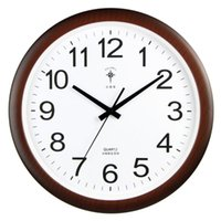 Horloge murale rétro horloge simple salon de mode cuisine moderne branchière électronique UHR chambre minimalisme maison décor 6DJ89